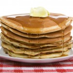 No finer stack of pancakes will be found anywhere in this town!