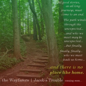 Winding wooden steps from The Wayfarers | Jacob's Trouble