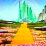 Emerald City in the Land of Oz