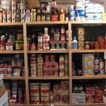 A pantry prepared for hard times