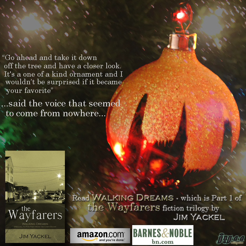 A most amazing ornament on a dreamy Christmas tree, but was it really a dream? The Wayfarers trilogy, best fiction books.