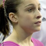Jordyn Wieber, 2012 London Olympics gymnastics competitor and American Gold Medal hopeful.