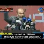 Mohammed Morsi - &quot;Our Capital Shall Be Jerusalem, Allah Willing&quot;