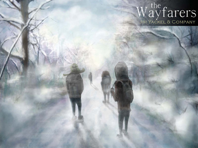 Cover for The Wayfarers (acoustic version) new music release October 2012. Cover design by Zac Retz.