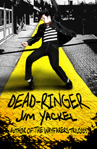 Dead-Ringer is the fourth novel by author Jim Yackel -with references Wizard of Oz, Elvis Presley, Yellow Brick Road, Chittenango, L. Frank Baum, Flying Monkeys