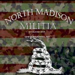 Logo of North Madison Militia from 'Dead-Ringer' - the suspense fiction book by author Jim Yackel