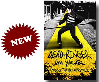 Dead-Ringer by Jim Yackel - cover design by LLPix Photography