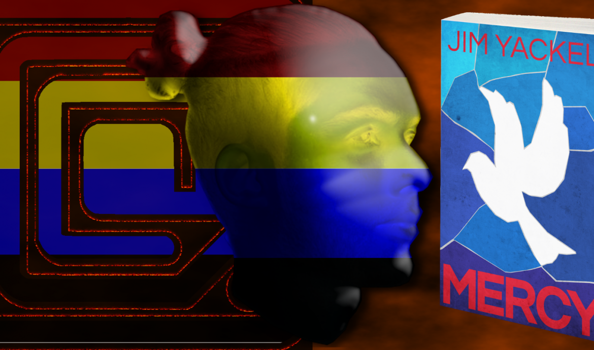 Who or what is the man of four colors? Read MERCY: A WAYFARERS STORY in Kindle or print.
