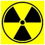 Nuclear symbol or logo - Americans are unprepared for disaster